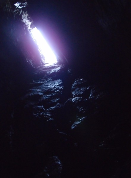 Pitch 3, up into the light!