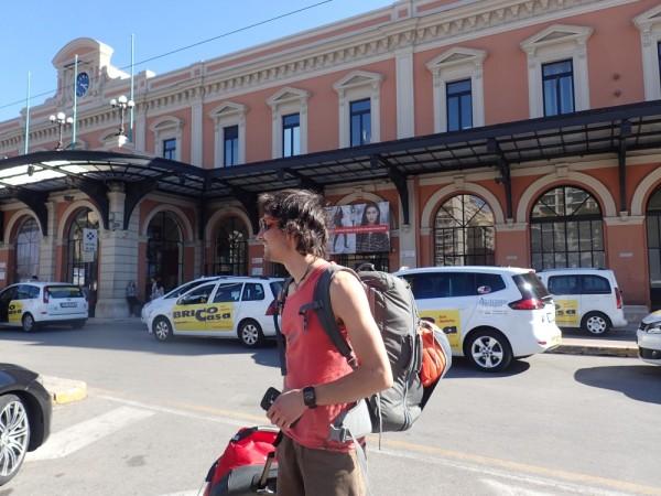Arriving in Bari