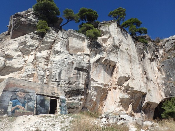 Spilia Daveli, ancient marble quarry