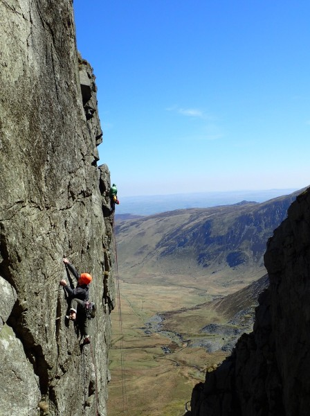A bit of mountain trad with Glyn and Luke in April... more of this sort of thing please!